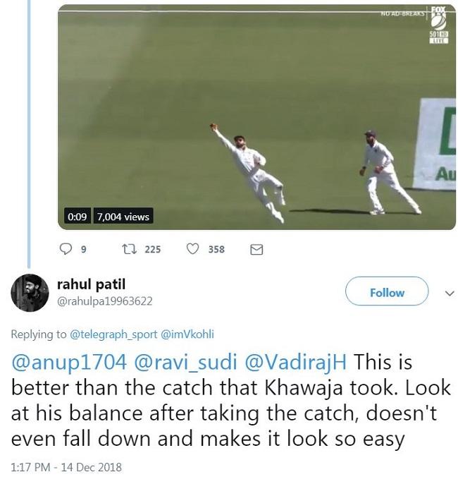 Virat Kohli INDvsAUS Perth Test