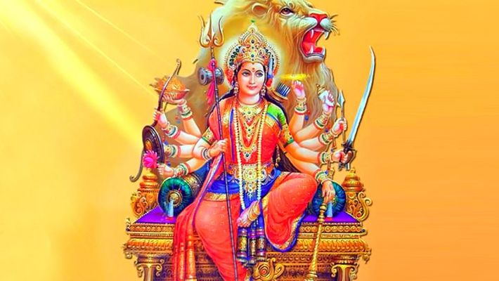 PunjabKesari, दुर्गा पूजन, Durga Pujan