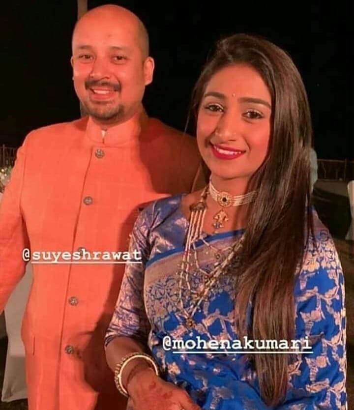 PunjabKesari,मोहिना कुमारी इमेज, मोहिना कुमारी  पिक्चर, मोहिना कुमारी  फोटो,  सुयश रावत इमेज, सुयश रावत  पिक्चर, सुयश रावत फोटो,