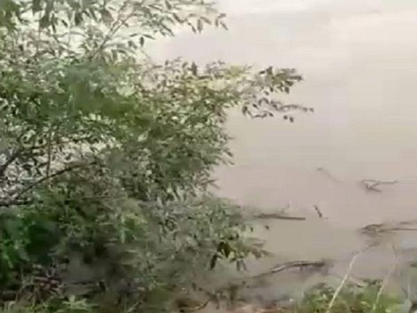 PunjabKesari, Madhya Pradesh, Katni, rain, river, Vijayraghavgarh, Bolero, ledger in water, 2 killed