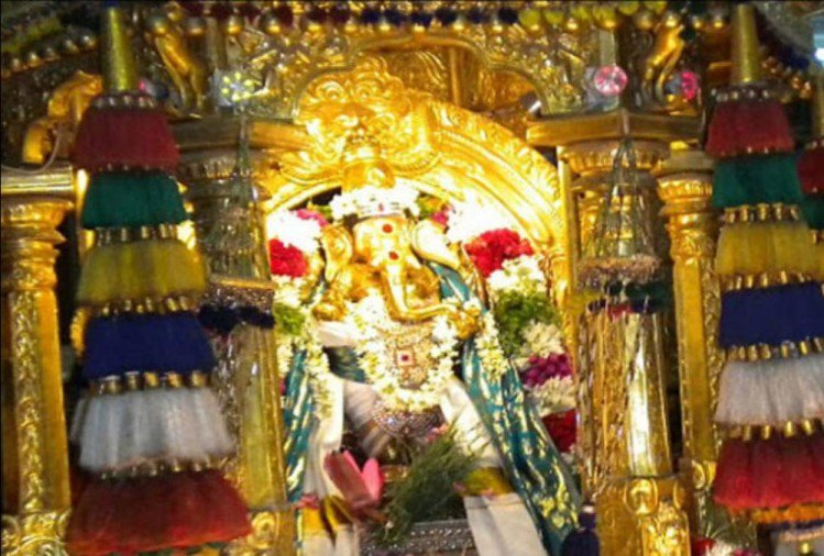 PunjabKesari, Ganesh chaturthi 2019, गणेष चतुर्थी, Famous temple of ganpati, मनकुला विनायक मंदिर