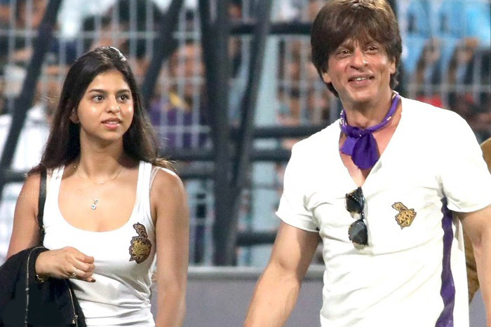Shahrukh daughter posted photo with tagline will arjun will be on time