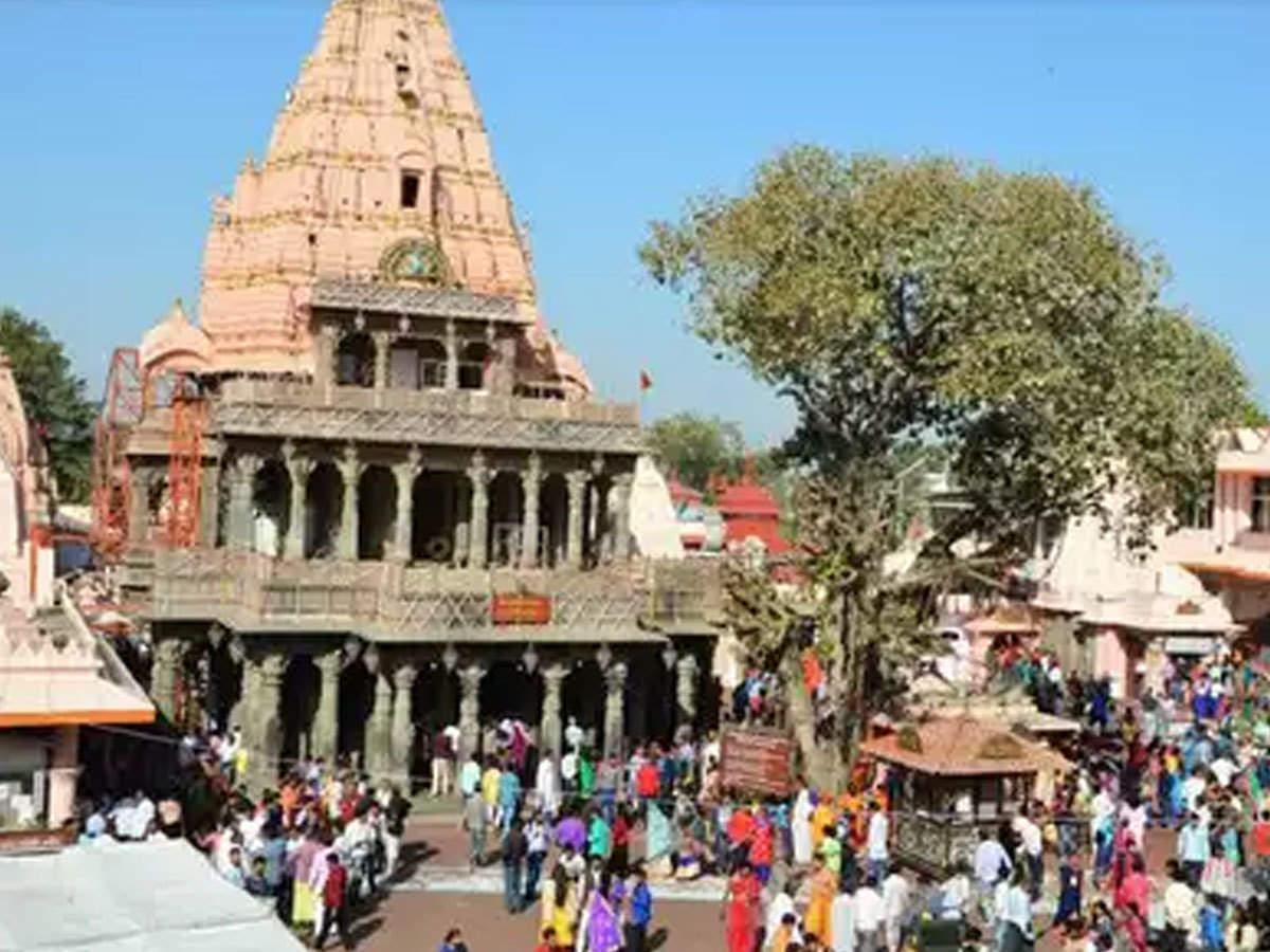 PunjabKesari Ujjain mahakal mandir, ujjain mahakaleshwar Temple, ujjain mahakaleshwar mandir, Mahakaleshwar Jyotirlinga, Mahakaleshwar Jyotirlinga Latest News, ujjain mahakal darshan, Lord mahakal, Lord Shiva, Jyotirlinga, mahakaleshwar temple Closes till 02 january