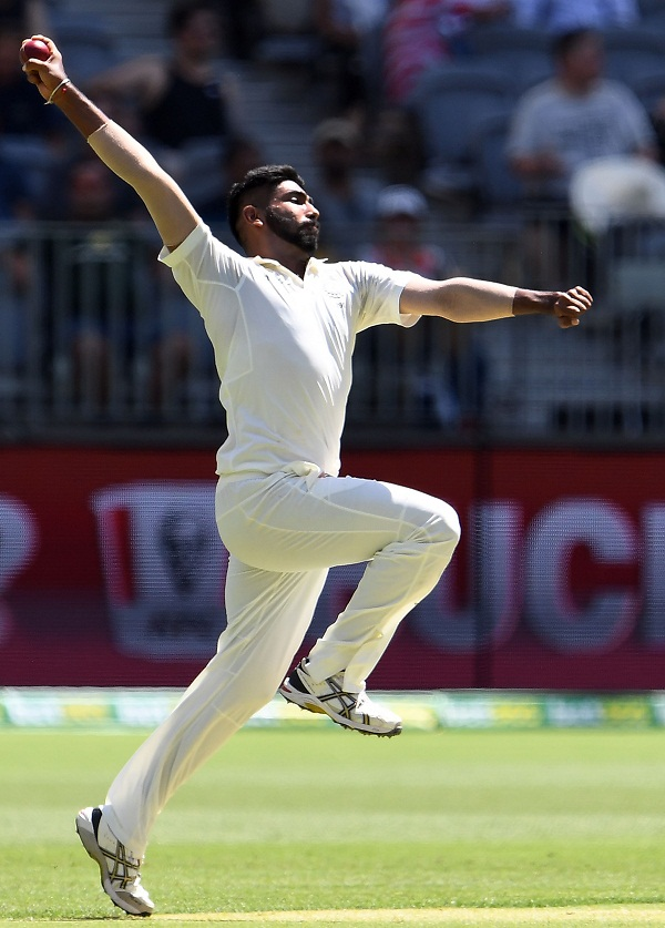 Jasprit Bumrah take most wicket after 8th test by indian bolwers