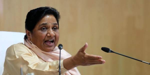 bsp victimized by bjp in up and congress in haryana mayawati