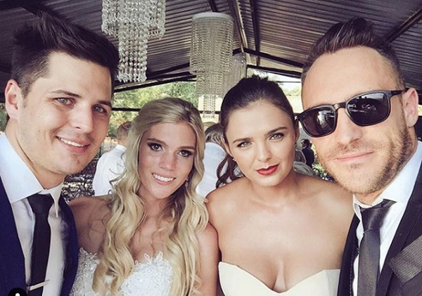 Birthday Special: Wife wrote special message on Faf du Plessis' birthday