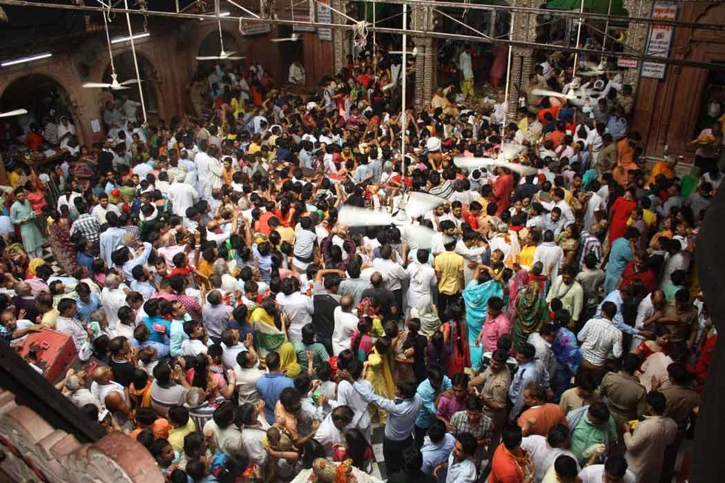 PunjabKesari, kundli tv, banke bihari temple