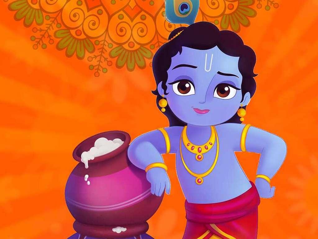PunjabKesari, lord krishna