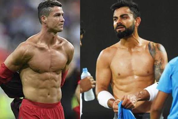 I Always Inspired With Cristiano Ronaldo : Virat Kohli