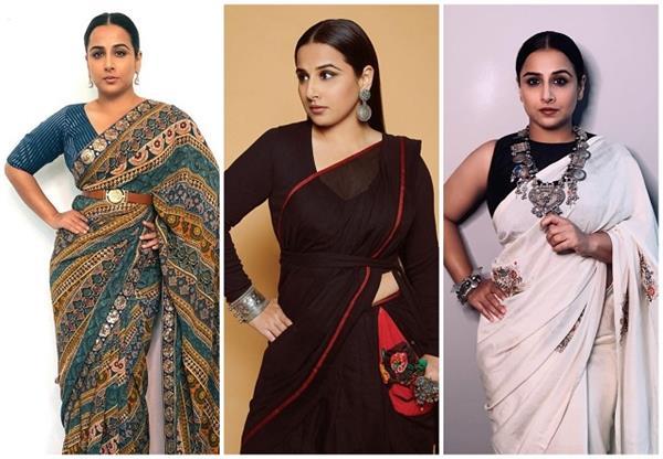Vidhya Balan की बेस्ट Saree Look, गर्मियों में भी दिखेंगे कम्फर्टेबल और कूल