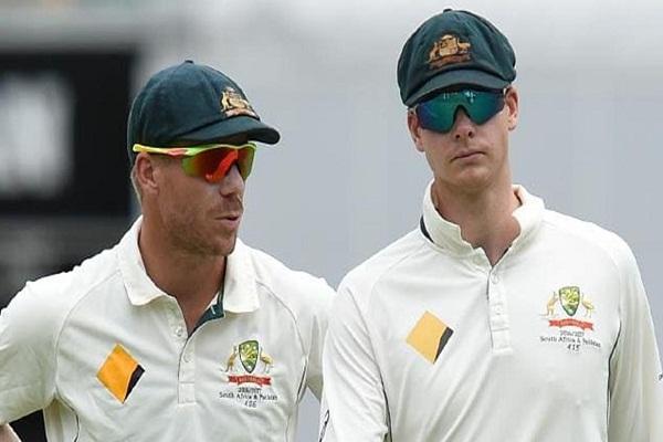 PunjabKesari, sports news, cricket news hindi, cricket australia, ball tampering case, Steven Smith, David Warner, Cameron Bancroft, ban