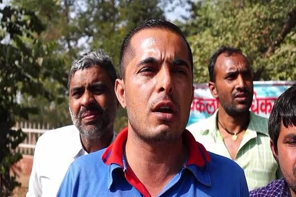PunjabKesari, Disabled, Strike, Abuse, Minister of State