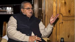 there is no place of militancy in kashmir said governor malik