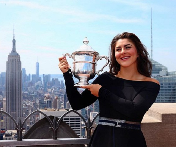 Blank cheque made Bianca Andrescu the US Open champion