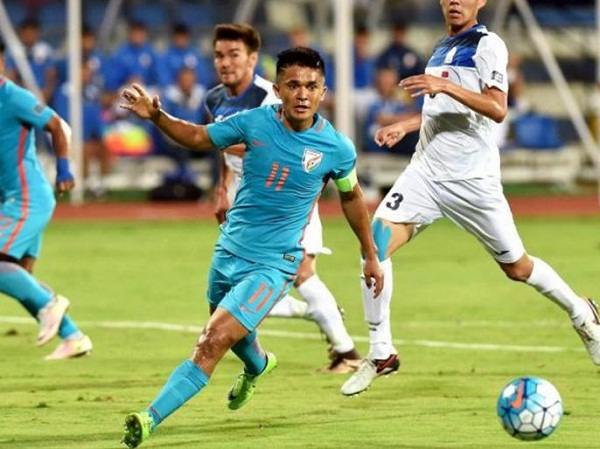 Indian Fotball, Sunil Chetri