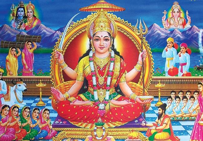 PunjabKesari,Santoshi mata, Devi Santoshi, संतोषी माता