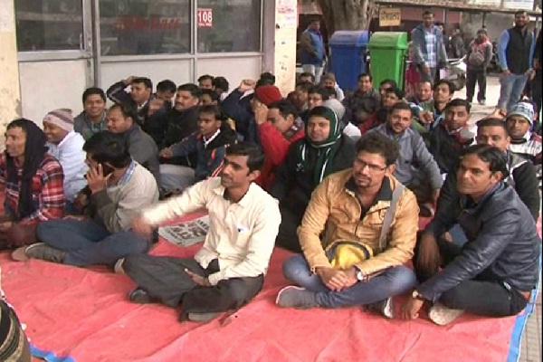 PunjabKesari, HNM, employee, strike, Health, Ambulance, service