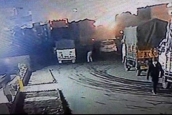 PunjabKesari, CCTV, Sonipat, Crime