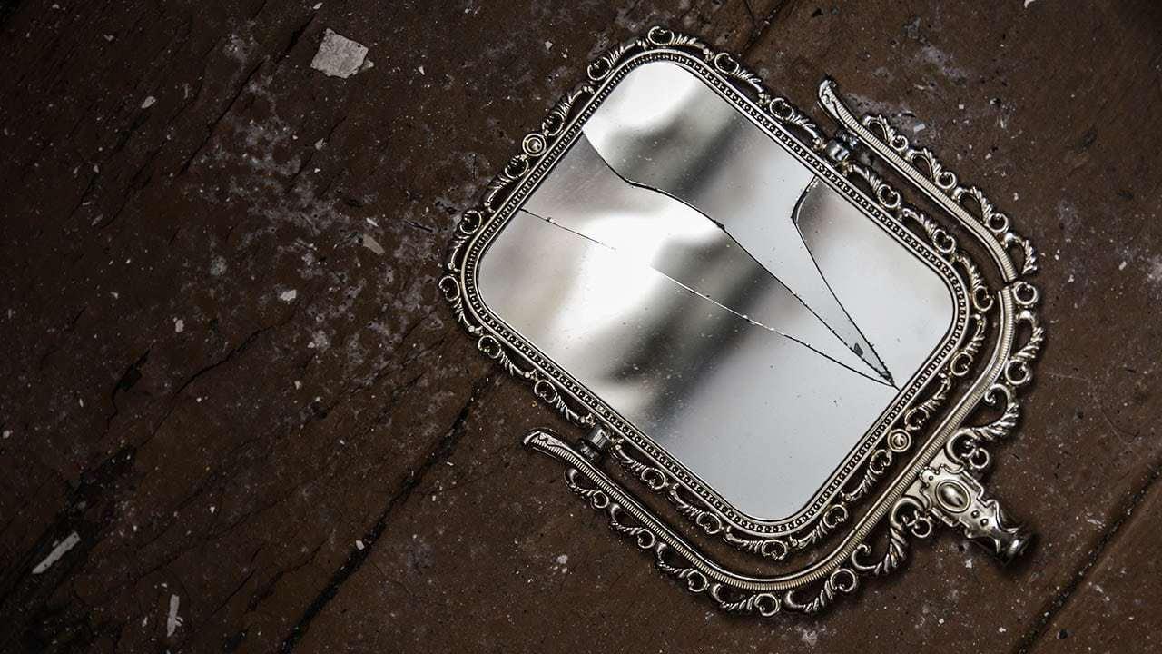 PunjabKesari, Broken Mirror, Mirror