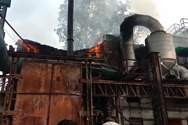 PunjabKesari, Fire, Company, Railways, Parts