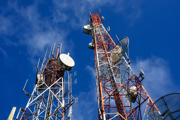 the revenue of telecom companies fell by 20 percent