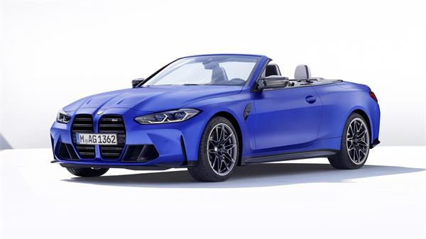 bmw introduced soft top m4 competition convertible