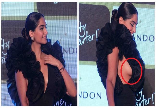 ड्रेस ने दिया धोखा, ताे सरेआम शर्मिंदा हुई ये एक्ट्रैस! -  actress-oops-moments- - Nari Punjab Kesari