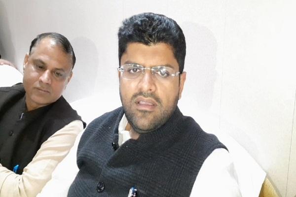 PunjabKesari, Dushyant chautala