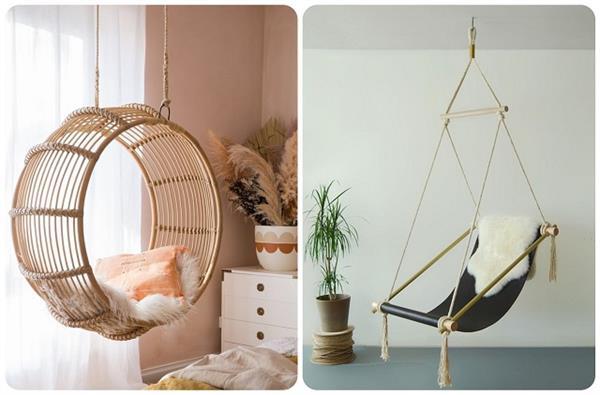 गर्मियों के लिए परफेक्ट Hanging Chairs, देखिए एकदम लेटेस्ट डिजाइन्स