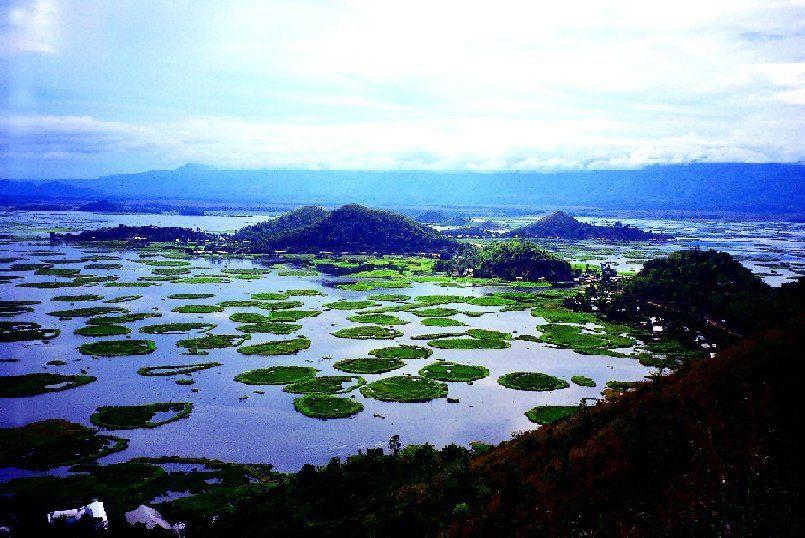 PunjabKesari, nari, Floating lake Image