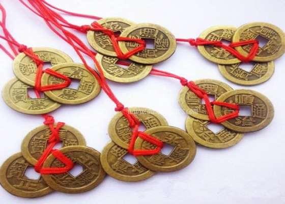 PunjabKesari, Chinese Coins, चाइनीज सिक्के, Fengshui Chinese Coins