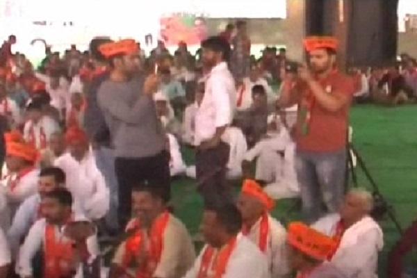 PunjabKesari, haryana hindi news, gurugram hindi news, op dhankar, deepender hooda, bjp, congress