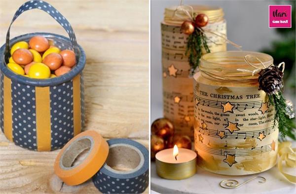 DIY Decor! बेकार समझ फेंके नहीं, सजावट के लिए यूं करें Glass Jar का रीयूज