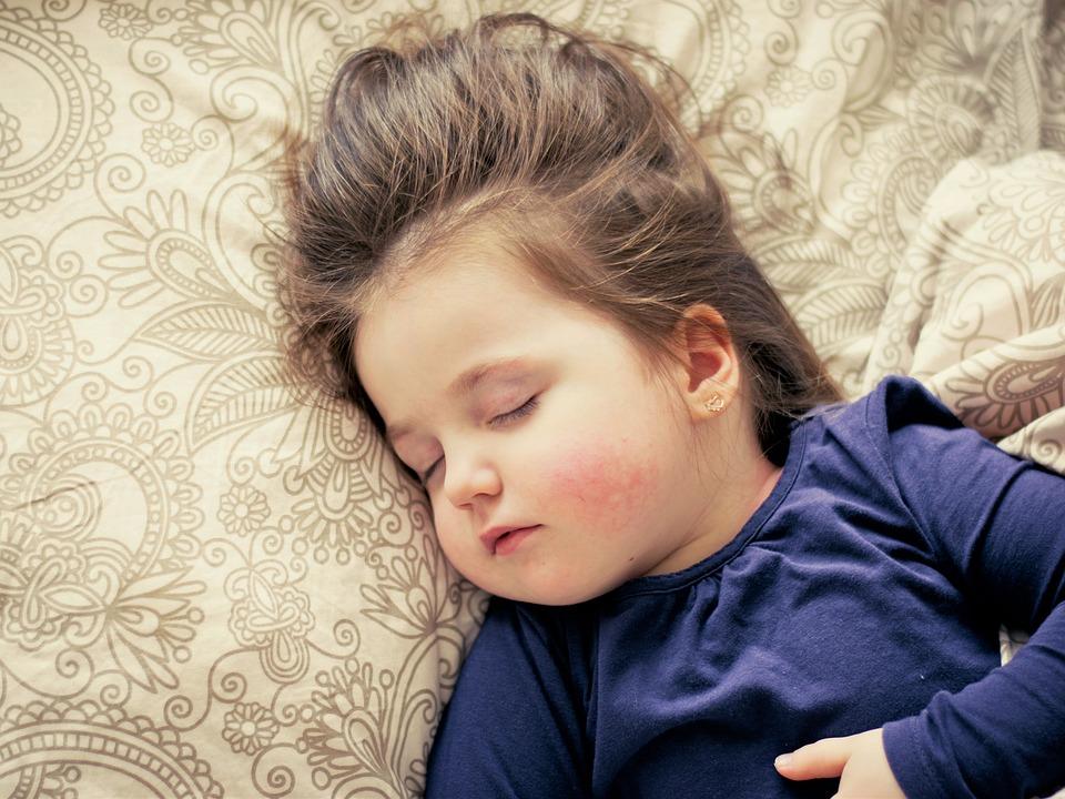 PunjabKesari, sleeping baby