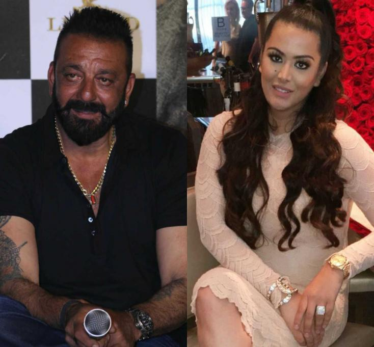 PunjabKesari, Sanjay Dutt with daughter