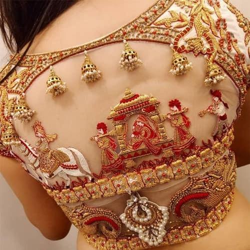 PunjabKesari, Blouse Design Photo Download,ब्लाउज डिजाइन फोटो डाउनलोड