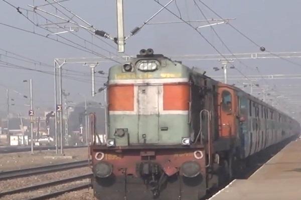 PunjabKesari, latest news, kurukshetra news, electric, railway, line