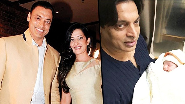 Shoaib akhtar become father again, wife rubab give birth to his second child