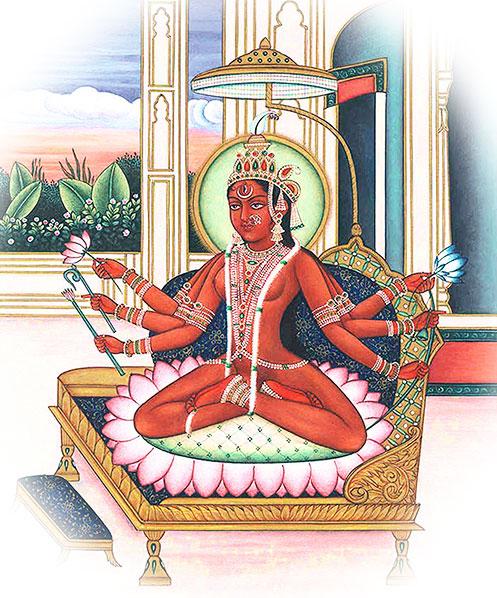 PunjabKesari, kundli tv, Devi Bhuvaneshvari image