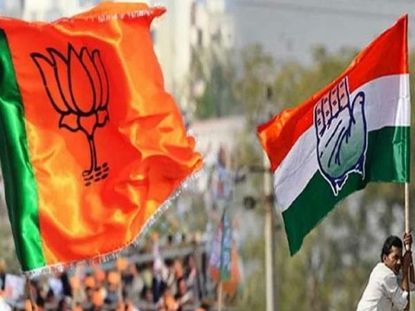 PunjabKesari, Madhya Pradesh News, Bhind News, Congress, BJP, Jyotiraditya Scindia, Poster, Amit Shah, PM Narendra Modi