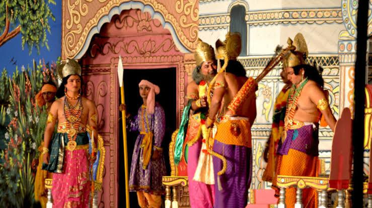 PunjabKesari, अनंत चतुर्दशी, रामलीला, रावण, Ravan, Ravana, Anant Chaturdashi, Ramleela, Ramlila, Sri Ram, श्री राम, Dharmik Katha in hindi, Dant kathan in india, Religious Story