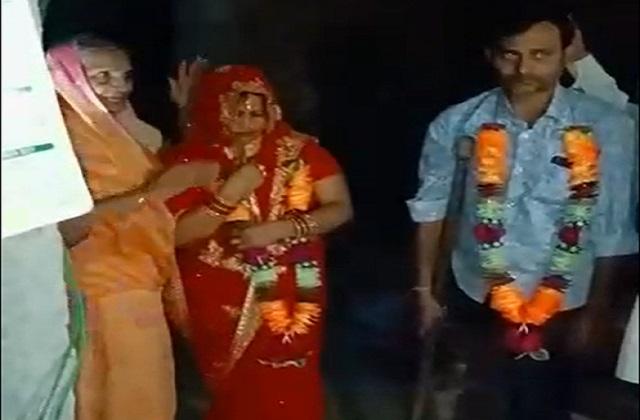 PunjabKesari, wedding, first night, bride, police, arrested, crime, Bhind, Madhya Pradesh