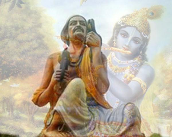 PunjabKesari  Narsi Mehta and Lord Sri Krishna