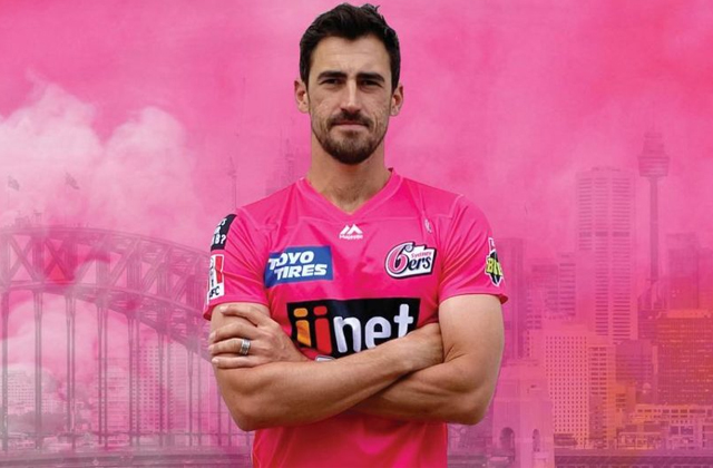 BBL, BBL 10, Big Bash League, Sydney Sixers, Mitchell Starc, Gurinder Sandhu, Cricket news in hindi, Sports news, बिग बैश लीग, मिचेल स्टार्क