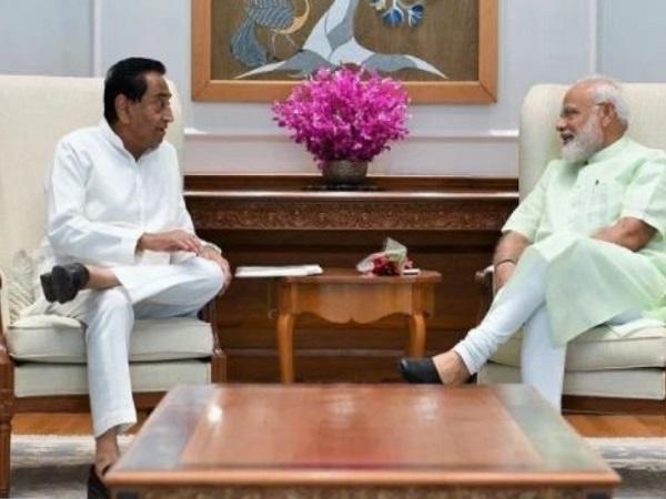PunjabKesari, Madhya Pradesh News, Bhopal News, Chief Minister Kamal Nath, Prime Minister Narendra Modi, BJP, Congress, crop damage, compensation to farmers, natural disaster, Jyotiraditya Scindia
