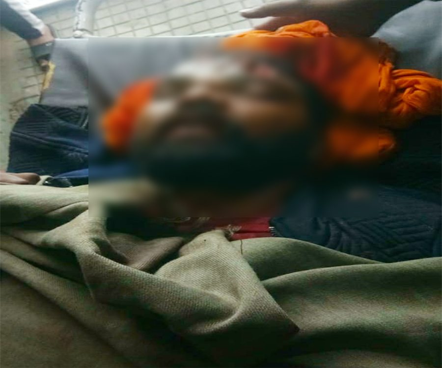 PunjabKesari, Young man brutally murdered, married 20 days ago