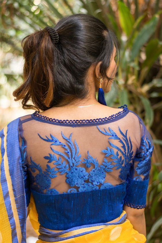 PunjabKesari, Latest blouse design,लेटेस्ट ब्लाउज डिजाइन