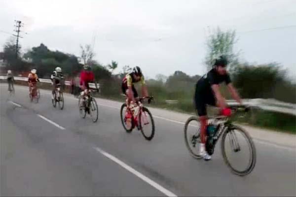 PunjabKesari, Cycle Race Image