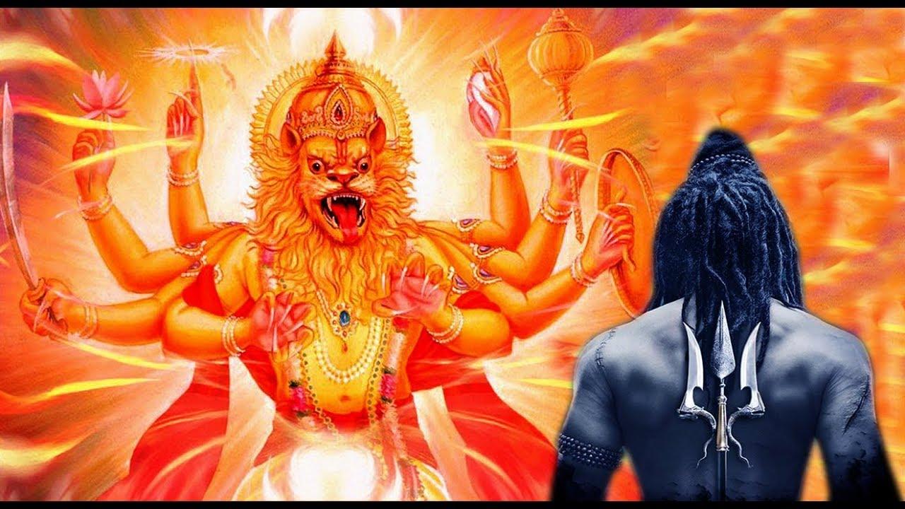 PunjabKesari, kundli tv, सर्वेश्वर अवतार image, narsingh avatar image