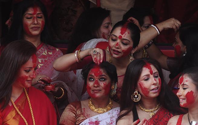 PunjabKesari, सिंदूर खेला